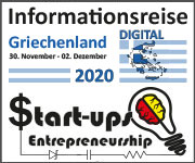 Informationsreise Griechenland Start-ups 2020 - digital